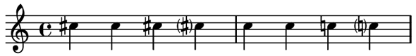 forced accidentals